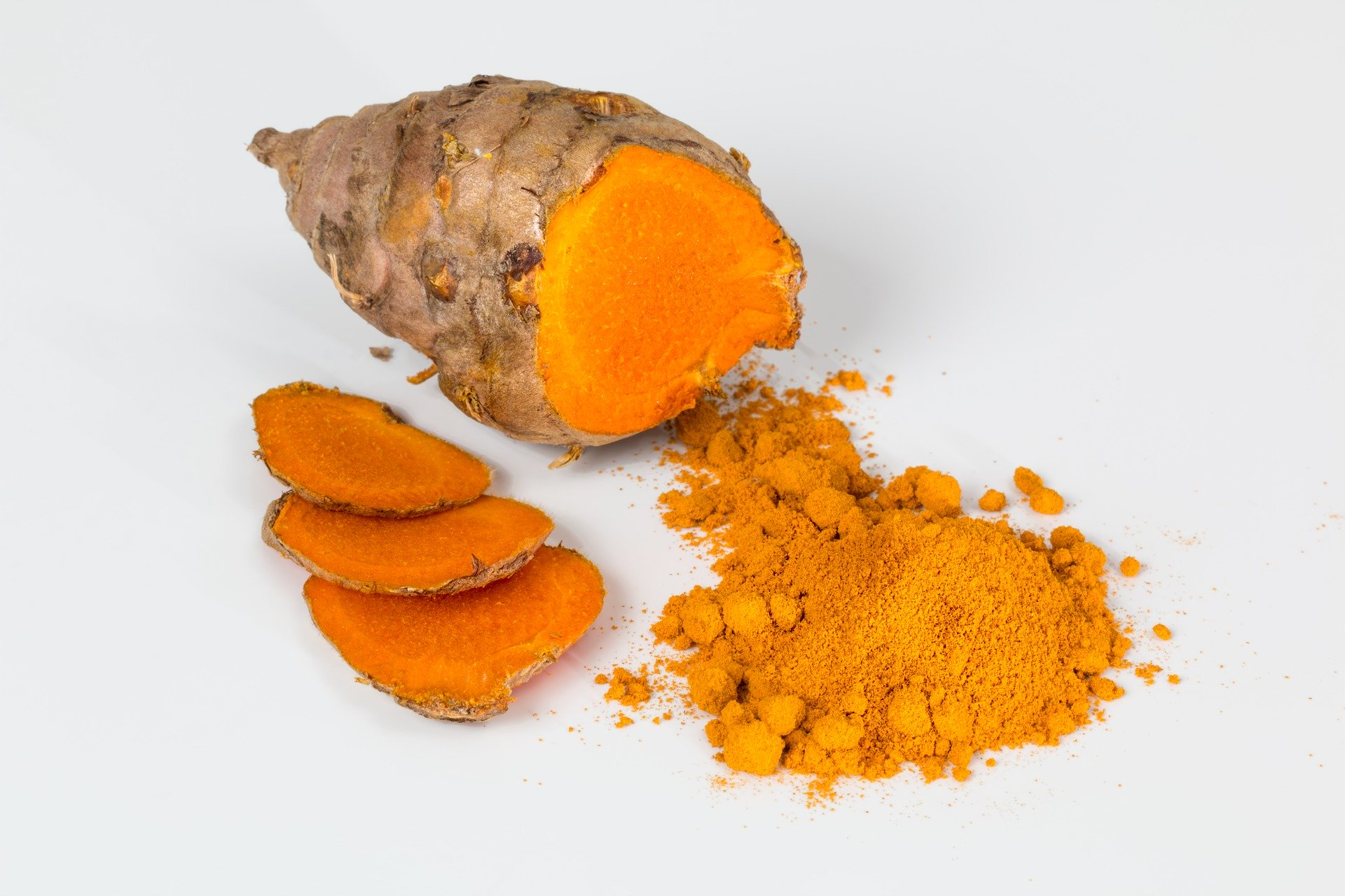 Gurkemeje har anti-inflammatoriske egenskaber (videnskabelig dokumentation niveau B, A er bedst))